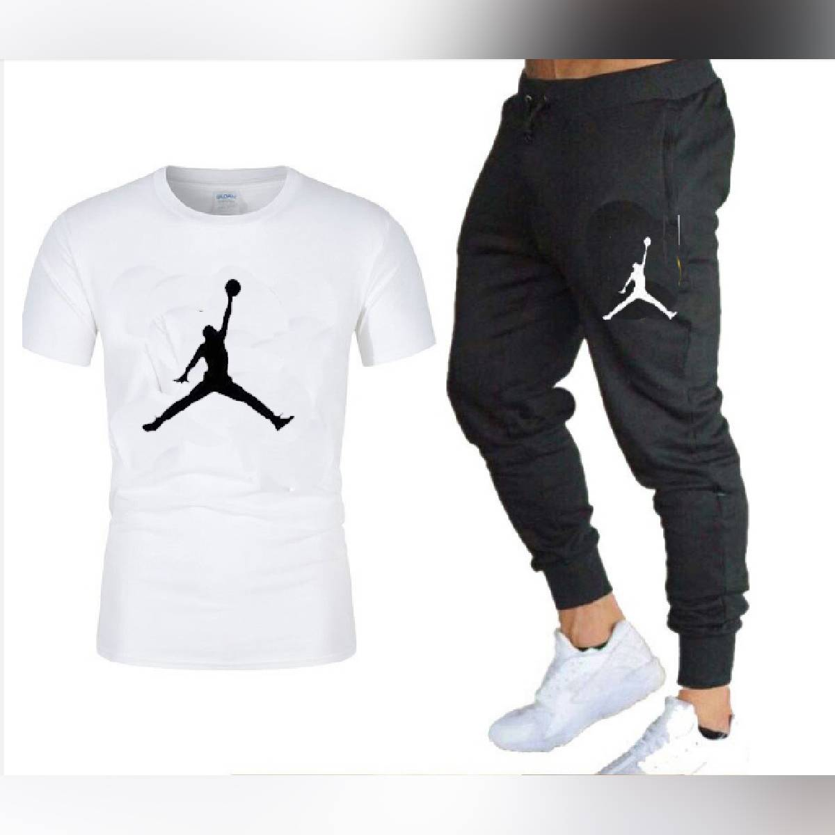 Half Sleeves T shirt and Trouser Tracksuits