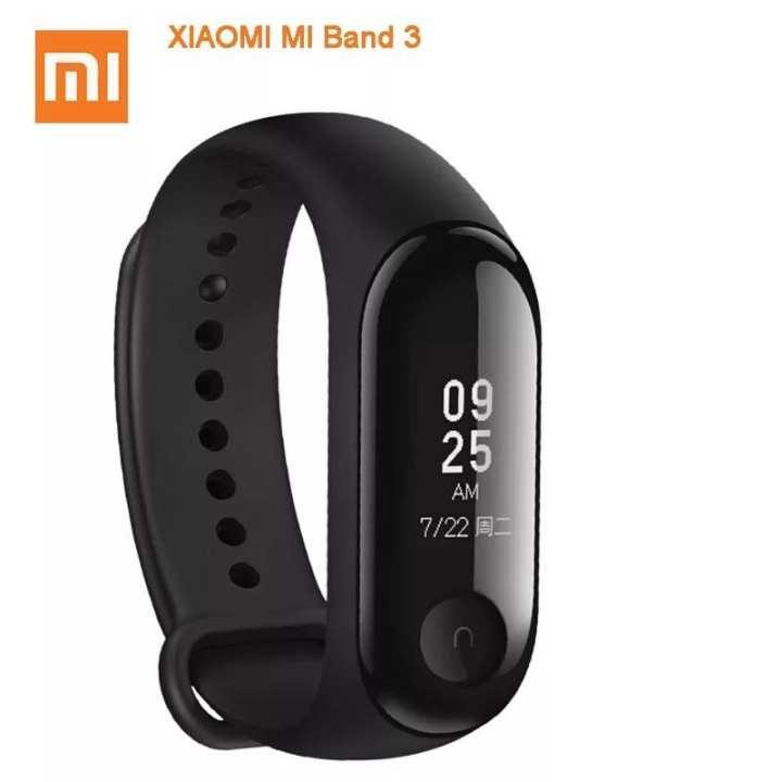 Origina Xiaomi Mi Band 3 Smart Wristband Fitness Bracelet MiBand Band 3 Big Touch Screen OLED Message Heart Rate Time Smartband