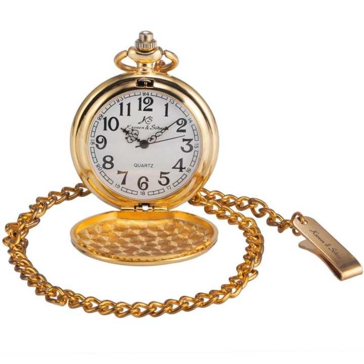 Personalized Creative Quartz Pocket Watch Alloy Chain Fashion