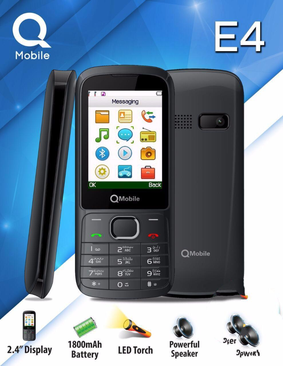 Qmobile E4 2 4 inch PTA approved
