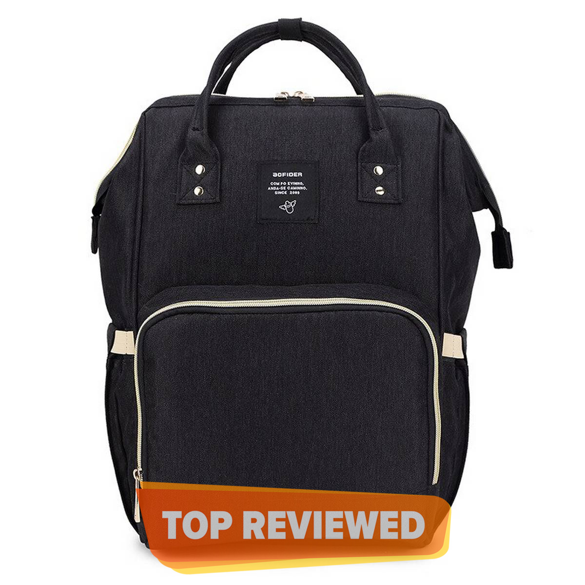 New Fashion Large Capacity Mother Bag Simple and Lightweight Backpack