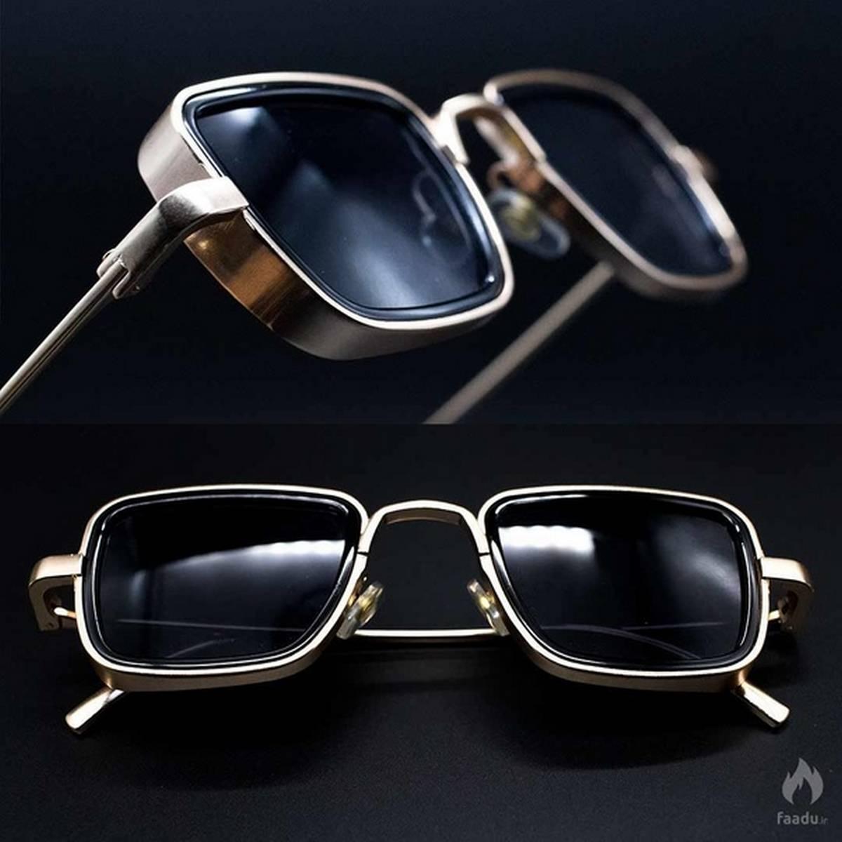 Shahid Kapoor-Kabir Singh Sunglasses - Men Square Frame Cool Sun Shades Brand Design for Male  A+