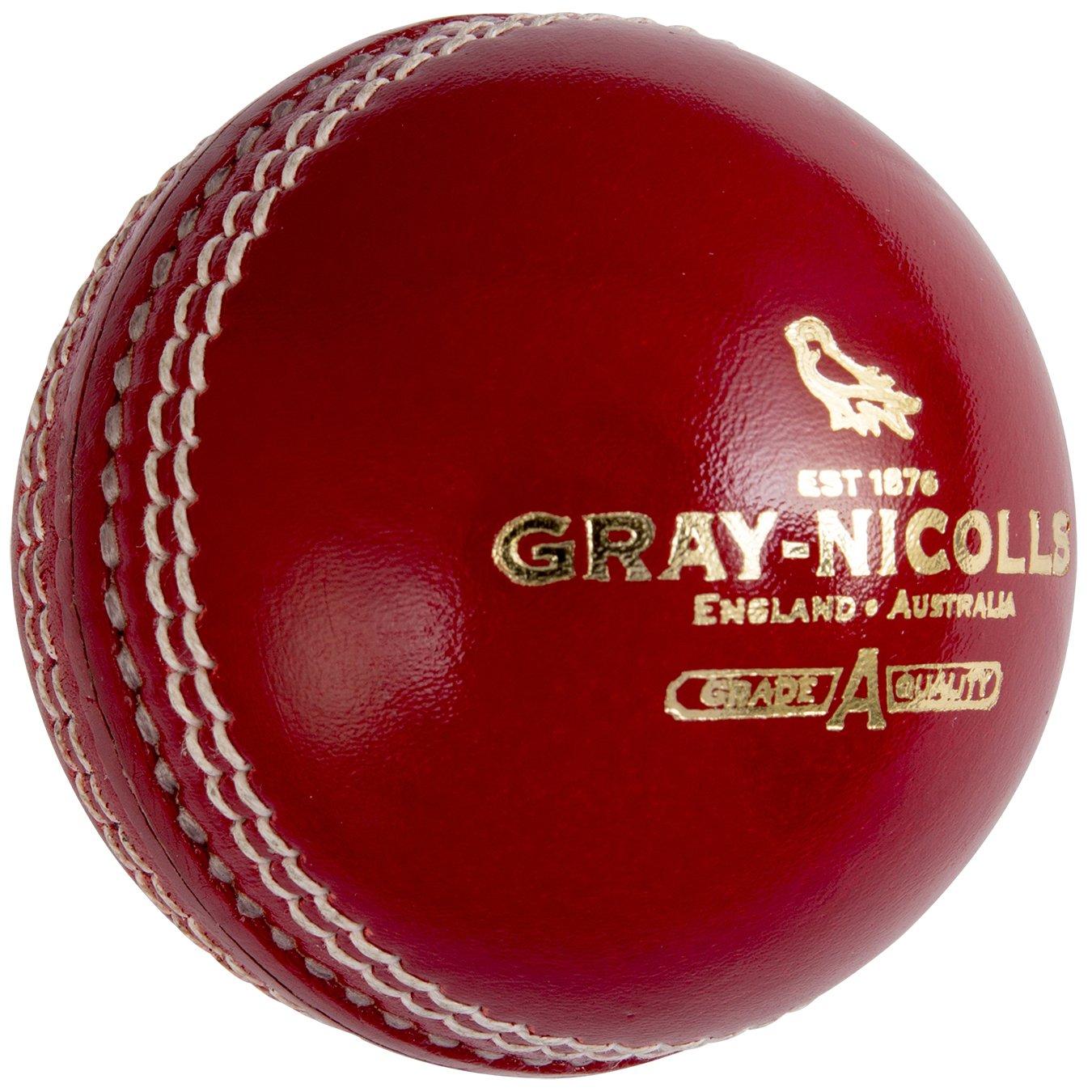 GRAY-NICOLLS Cricket Match Ball _ 4piece Hard Ball and Good Quality