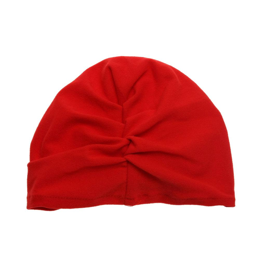 20d32f7b300d Toddler Kids Baby Soft Cotton Knot Hat Rabbit Ears Stretchable Cap ...