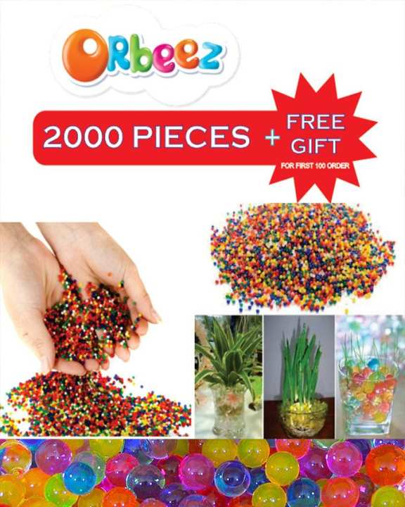 2000Pcs Orbeez Soft Crystal Water Balls