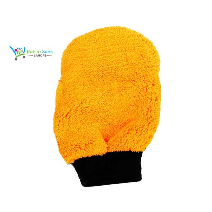 Microfiber Washing Mitts For Car and House Holds