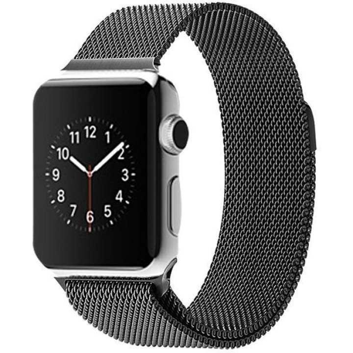 Apple Watch Band Milanese Strap 42MM - Black
