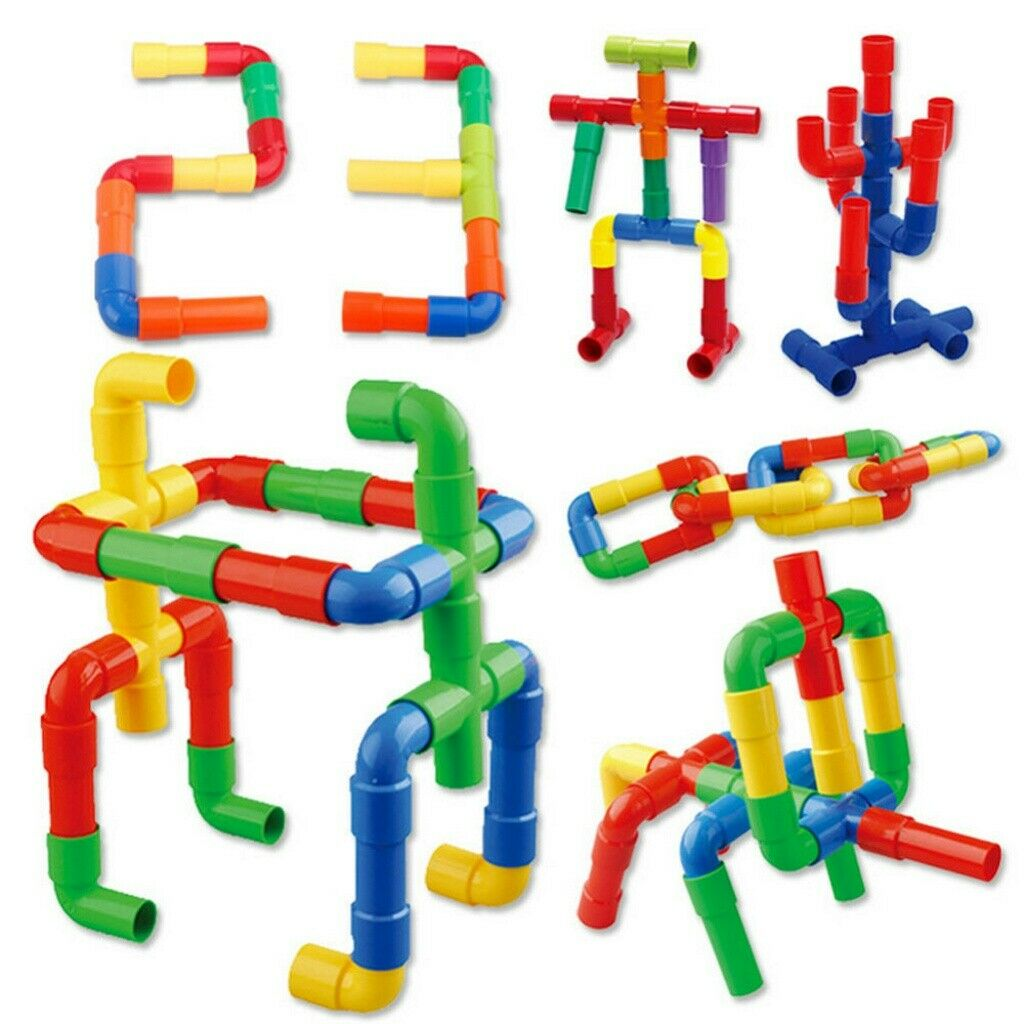 Toys Factory Children Safe Building Blocks Plastic Puzzles Educational Learning Toys