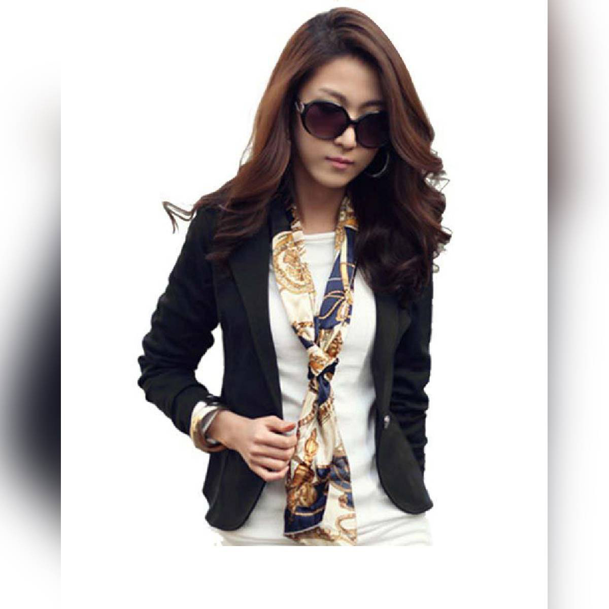 Trench Double Button Ladies Coat for Winter
