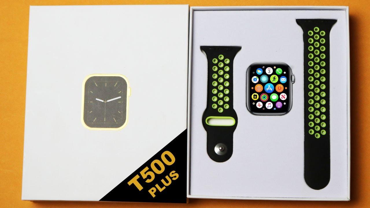 T500_Plus Smart Watch With Dubble Straps