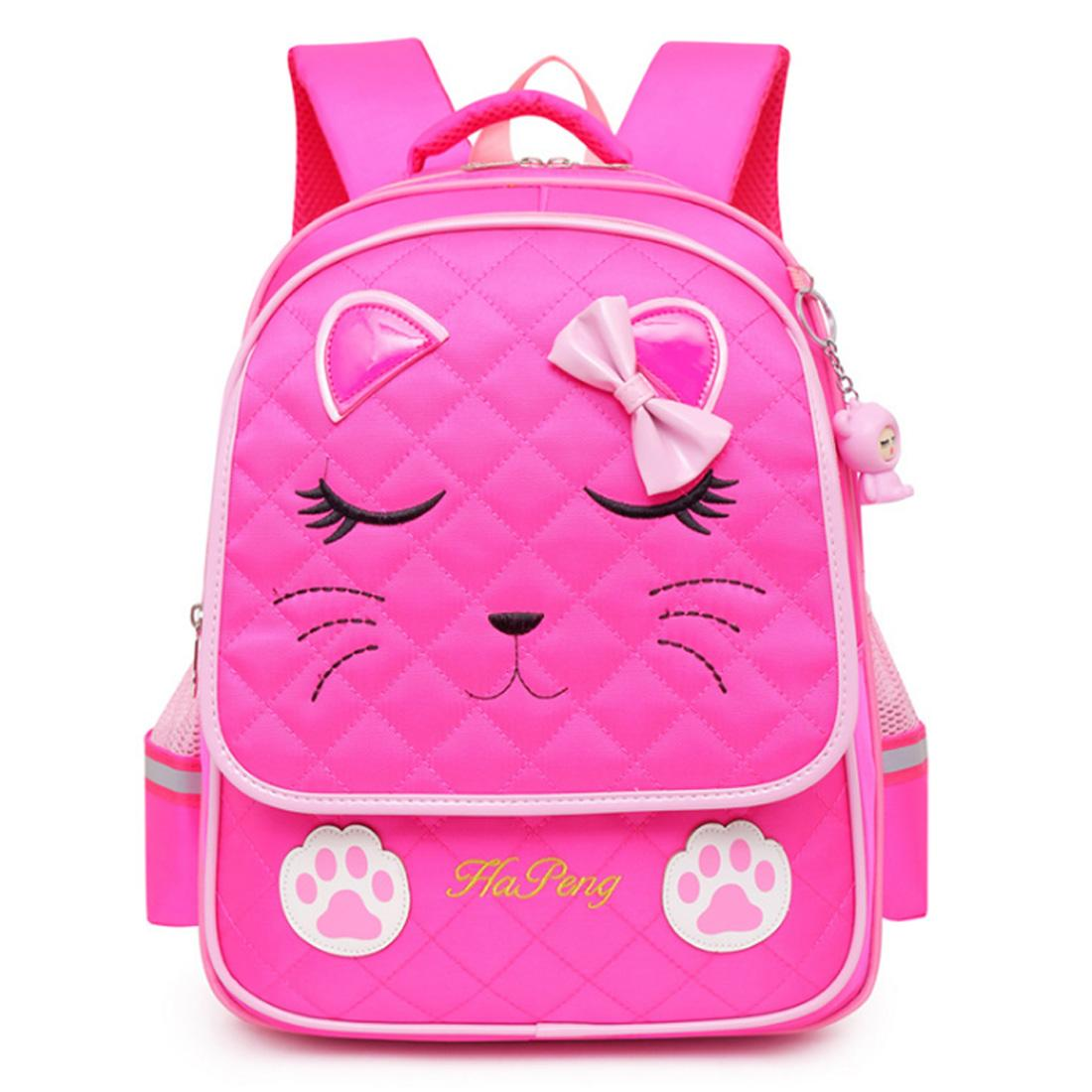 9a01772cae10 Children Schoolbag Fashionable Large Capacity Backpack for Students - Rosy L