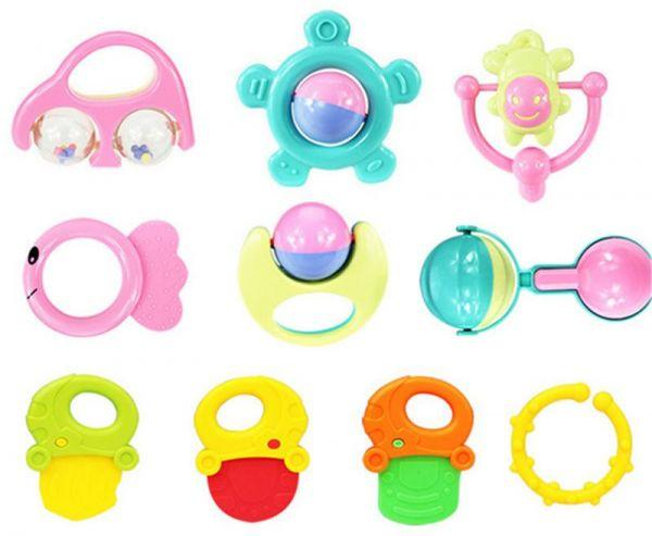 Baby Rattles Toys (3 in 1)
