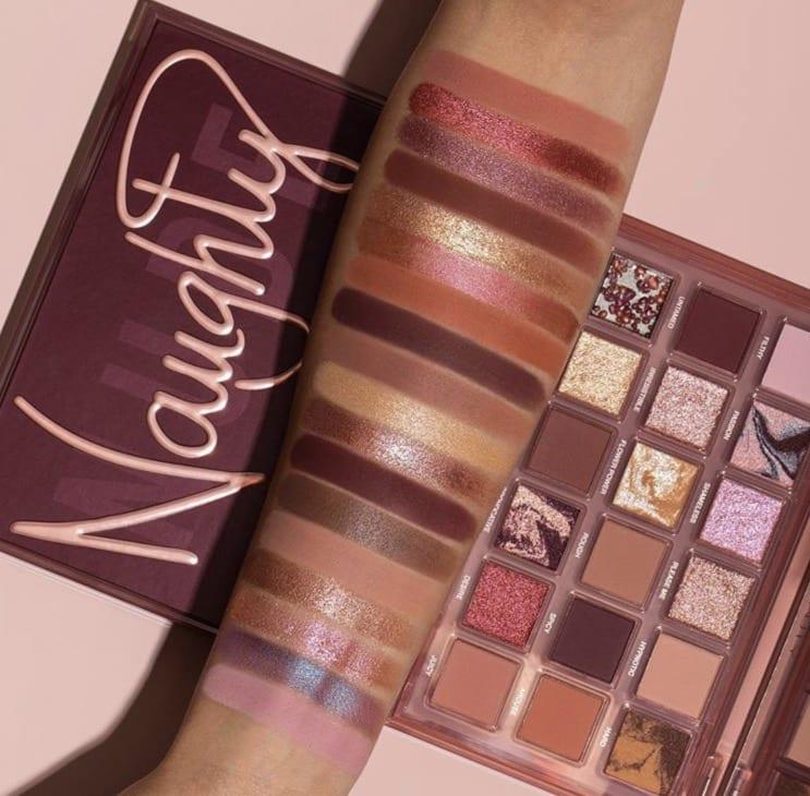 18 Colors Naughty Pallete Nude Shining Glitter Eyeshadow Palette Shimmer Matte Long Lasting Makeup Powder Pigment Waterproof Eye shadow Cosmetic