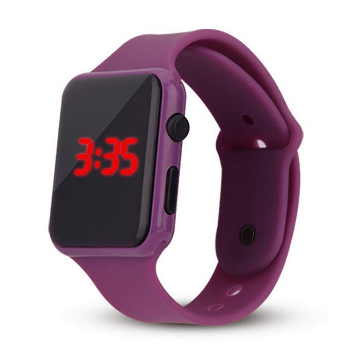 LED Wrist Bands Digital Watch 10 Colors Available