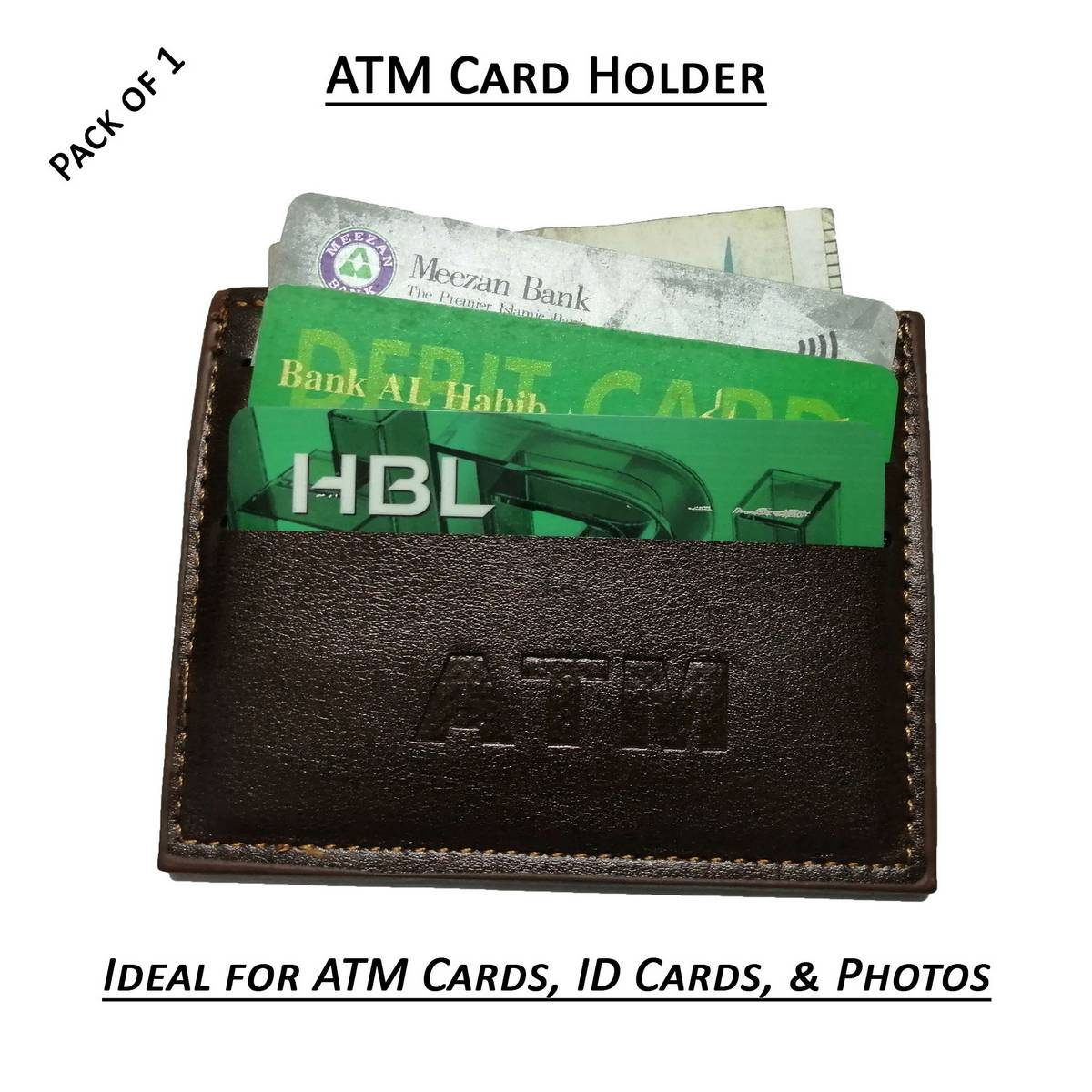 Hot Selling Mini ATM Wallet Best Quality Leather ID Card Holder Slim Pocket Purse for Male