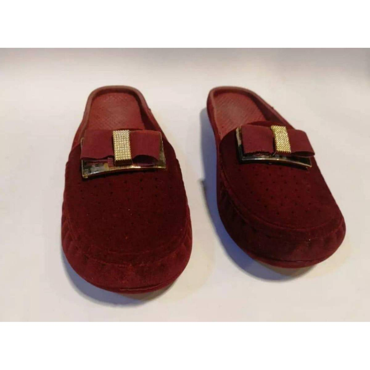 KFC Casual Mehroon Slipper For WoMen Latest Arrival With Fabolus Quality