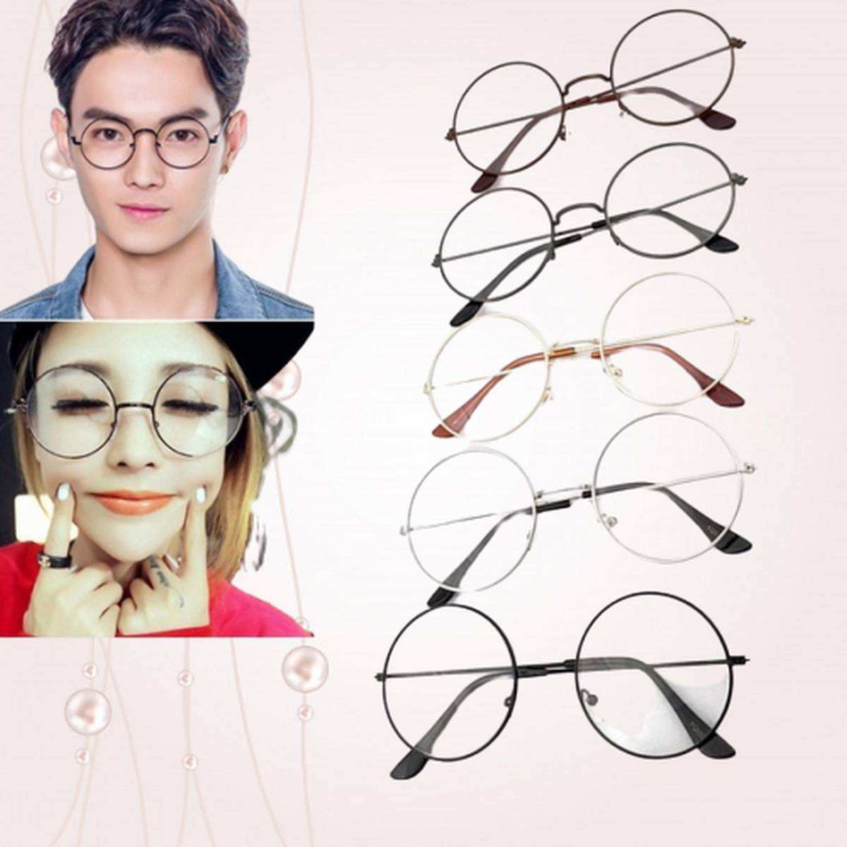 Harry Potter's Brand New Round Shaped Glasses in Multi color Frames - for both Boys and Girls