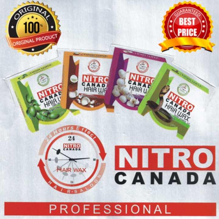 Nitro Canada Hair Wax Freestyle Gel Wax