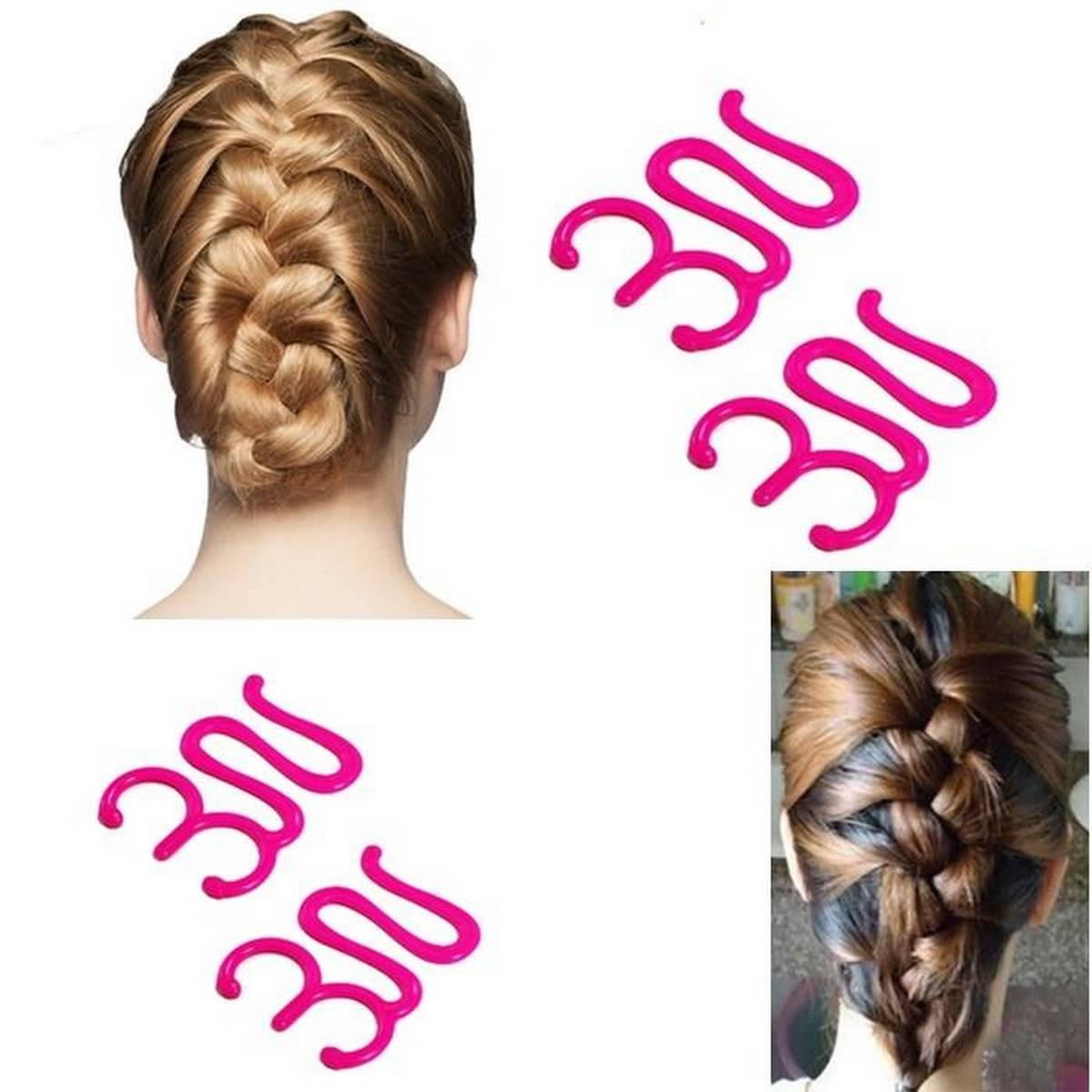 NEW FASHION! Lady French Hair Braiding Tool Weave Sponge Plait hair Twist Hairstyling Braider DIY Accessories