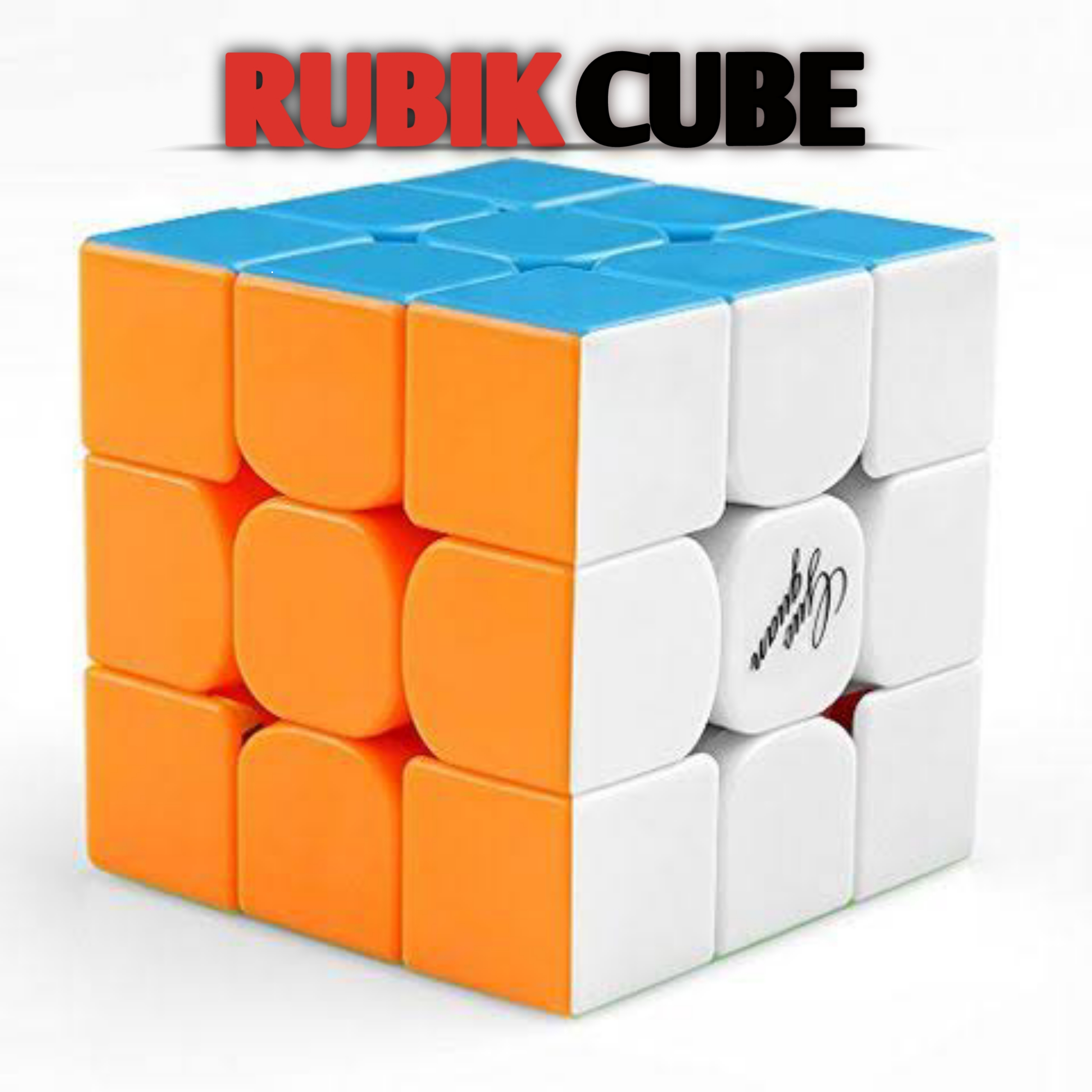 Rubik Cube 3x3 - Qiyi Warrior S Best Quality Fast Speed Magic Cube Puzzle Game Toys