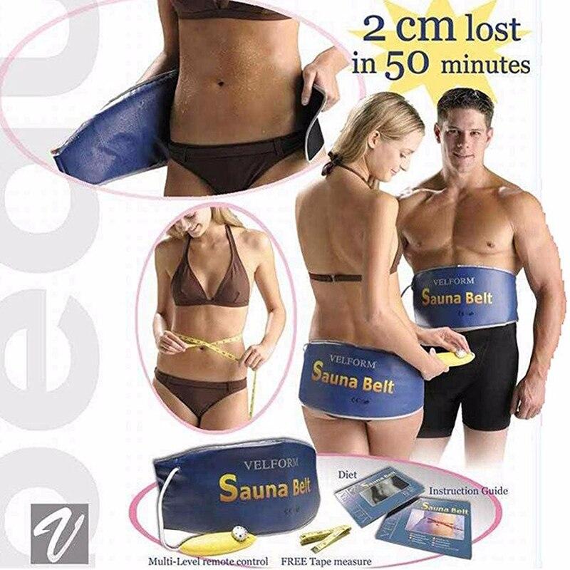 Hot Body Shaper Automatic Electric VELFORM Sauna Belt Waist Trimmer Belt Waist Trimming Belt Hot Slimming Belt Hot Belt Hot Slim Belt Weight Loss Belt Body Wrap Belt Belly Fat Slim Belt:
