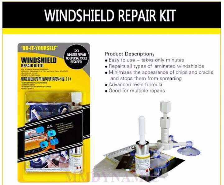 CAR Windscreen Repairing KIT
