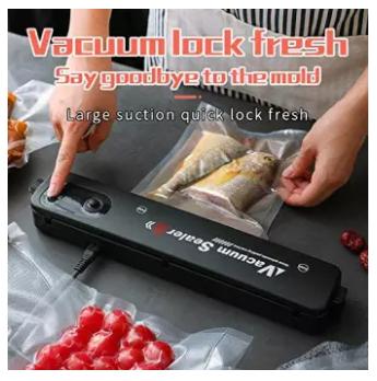 Vacuum Sealer Hand Pump Keep Food Saver Longer-Storage Bags Kitchen Tools Set - ZKFK-001