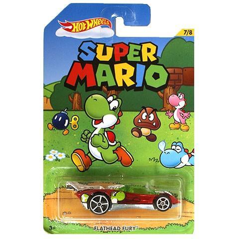 Khanaan - Hotwheels Flathead Fury Super Mario Series - Diecast - Scale 1/64