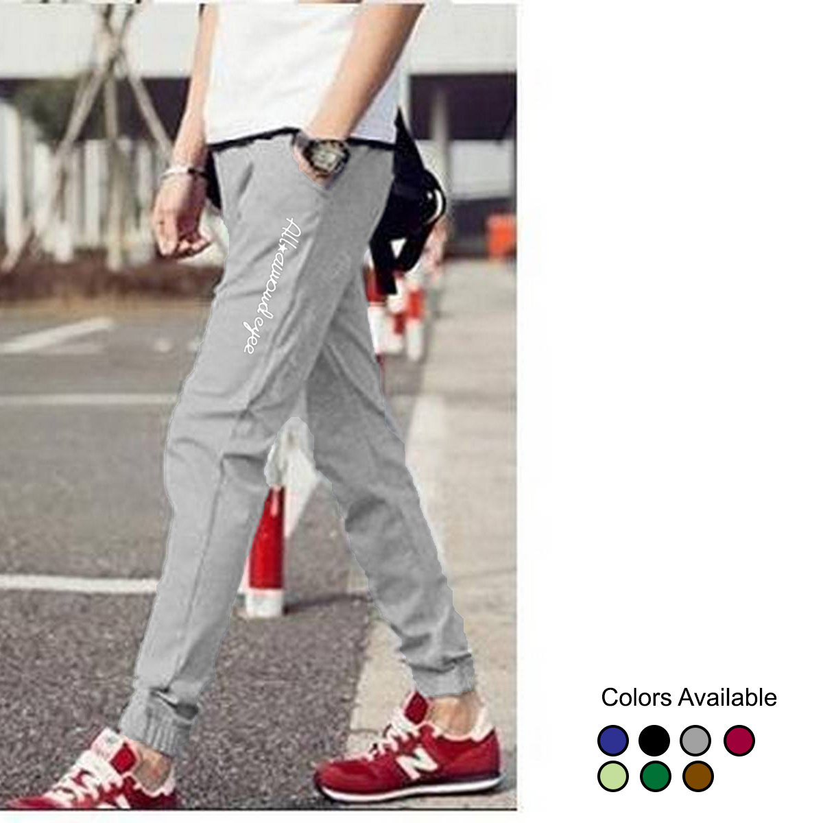 All Eyes Cotton Gym Sports Trousers and Jogging Sweatpant Trouser For Men and Boys