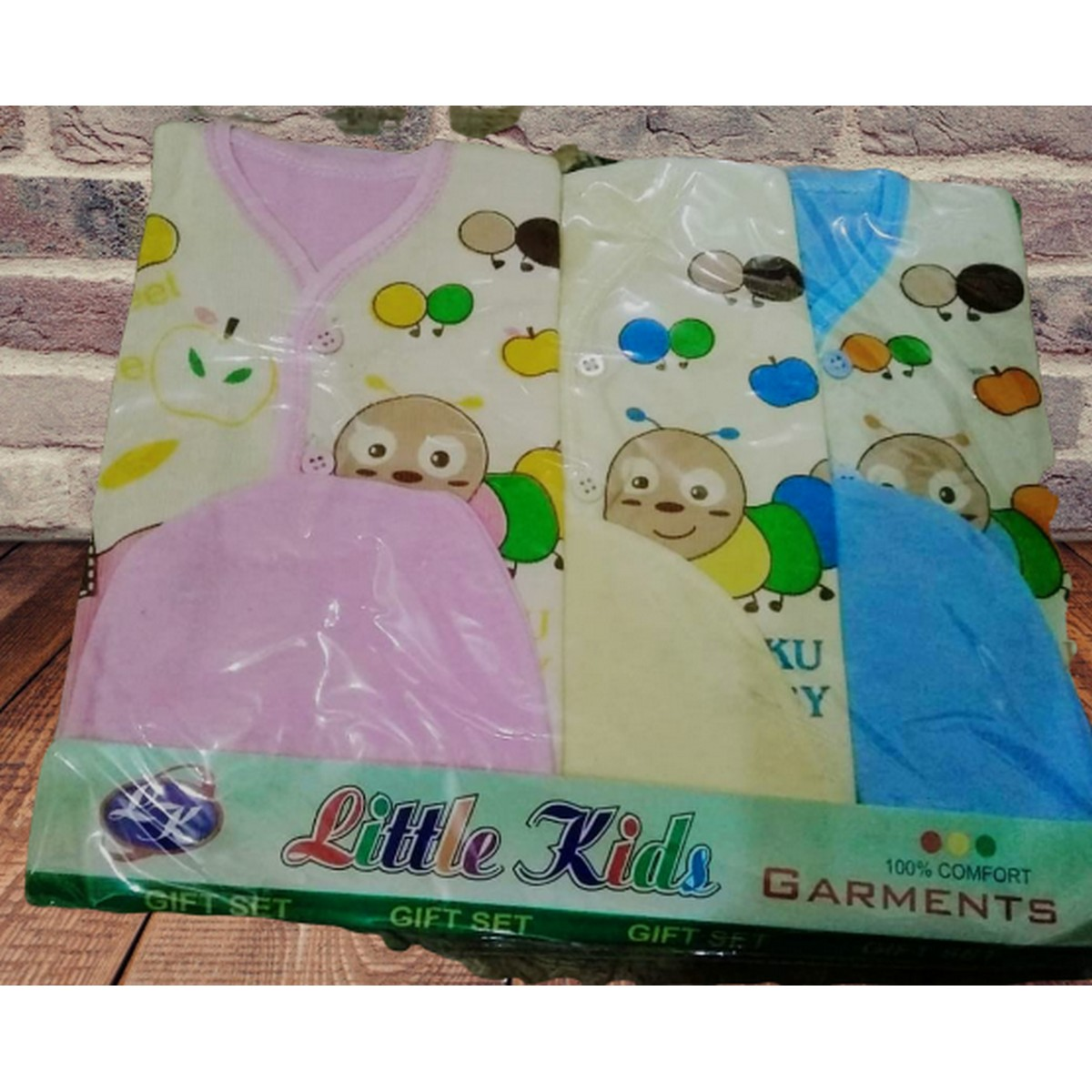 Pack of 3 New Born Baby Suit