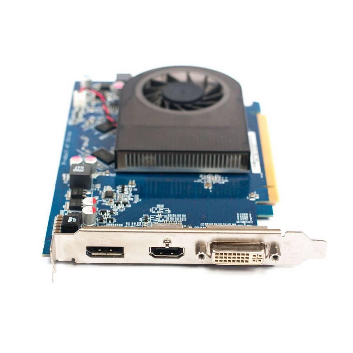 ATI Radeon HD7570 1GB 128BIT DDR3 gaming GTA5 PUBG