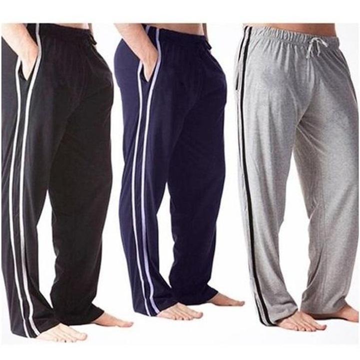 283fe204f87 Pack of 3 - Striped Pocket Long Trouser For Men - Night Wear Trouser For Men