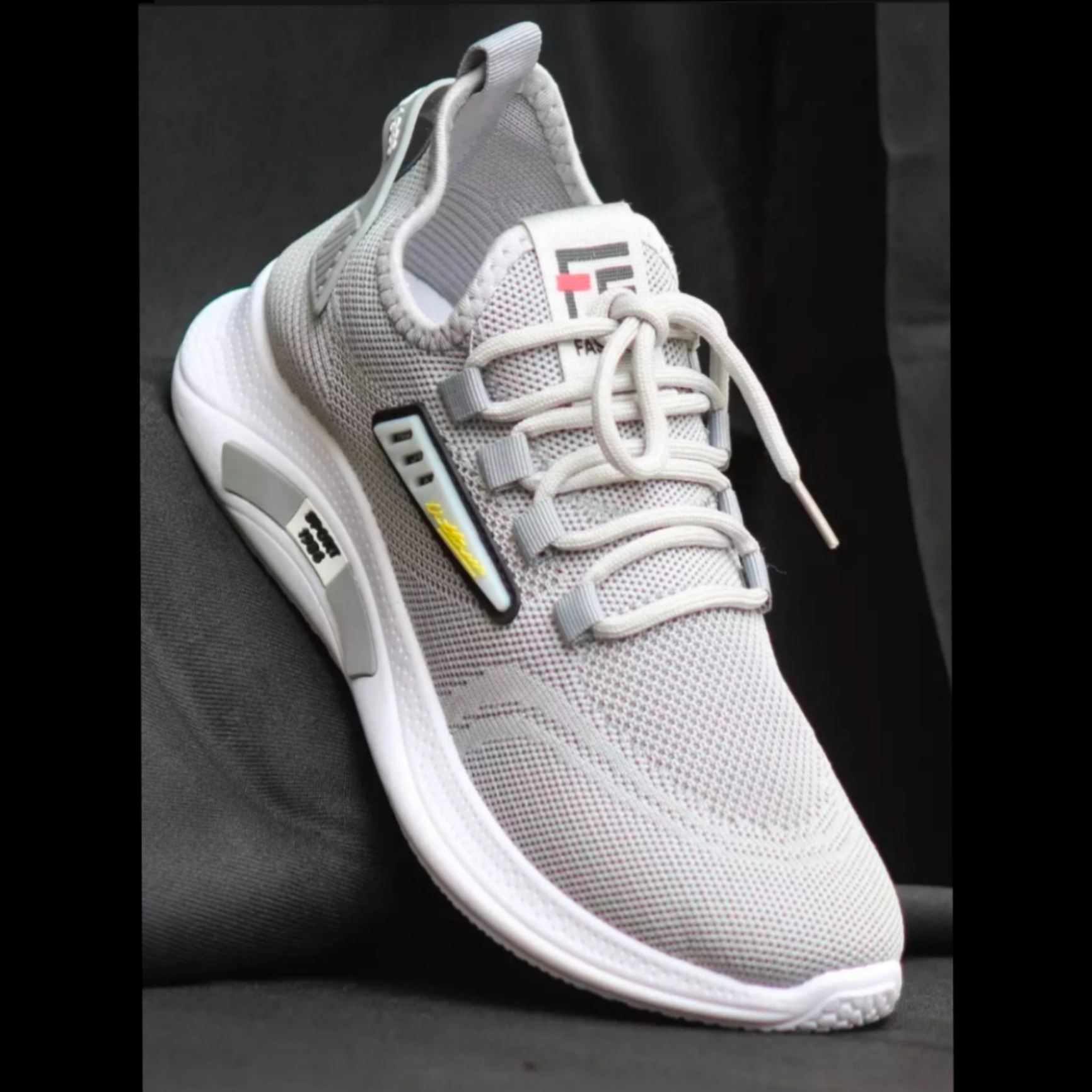 Men's Fashion sporty style, comfortable, breathable, casual, running Sneakers Shoes, Air Mesh LaceUp Sports Style