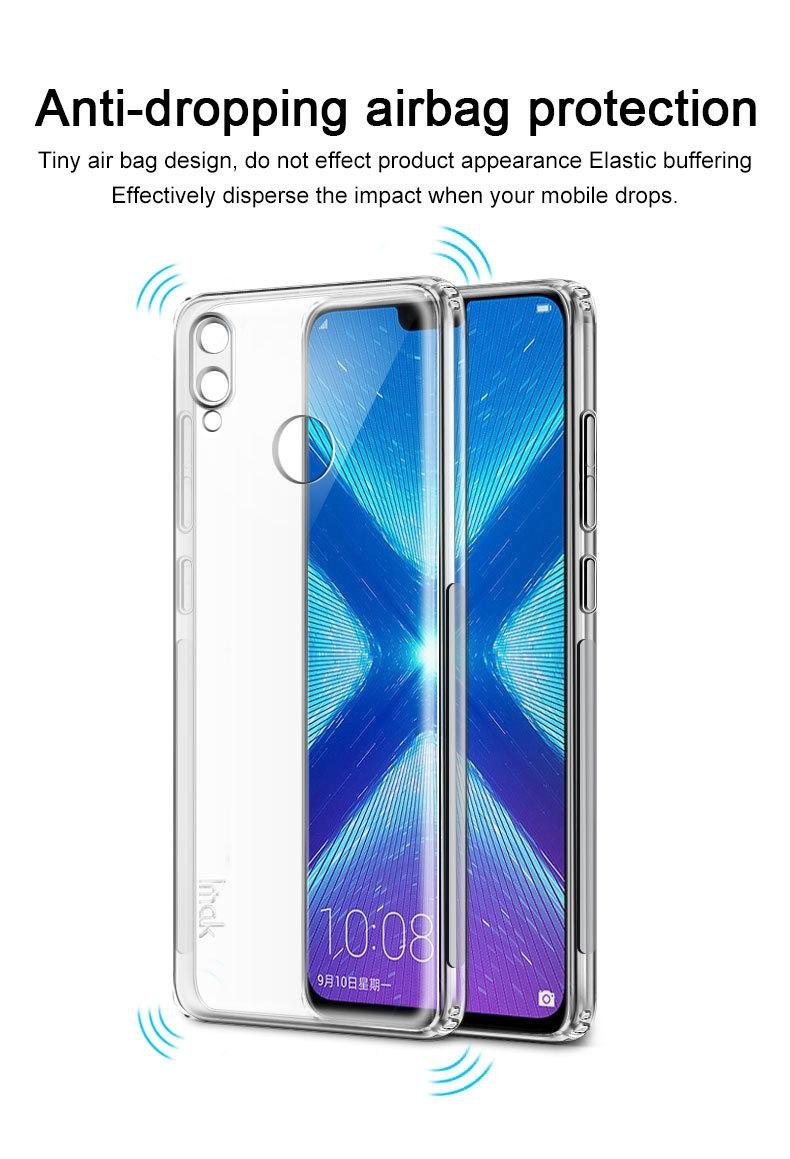 Huawei Y9 2019 Airbag Shock Resistant Soft TPU Transparent Case
