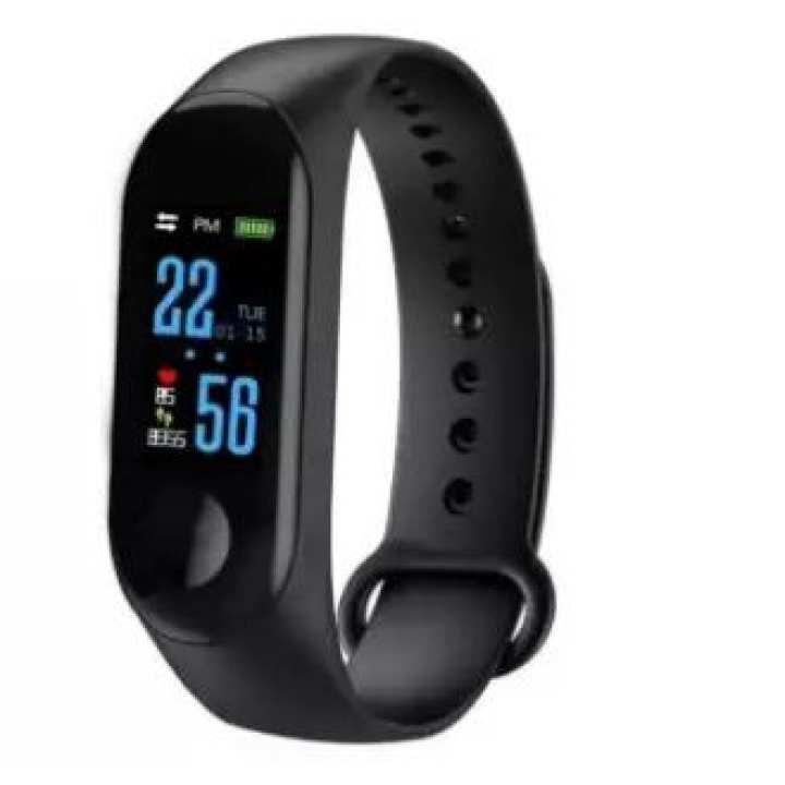 Smart Fitness Tracker Activity Band M3