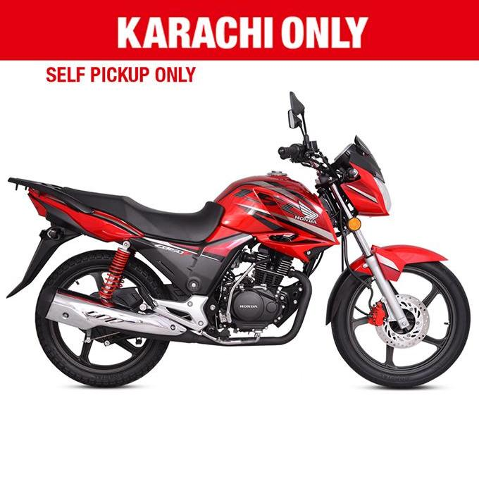 Honda - CB 150F - (Red Colour) For Karachi only