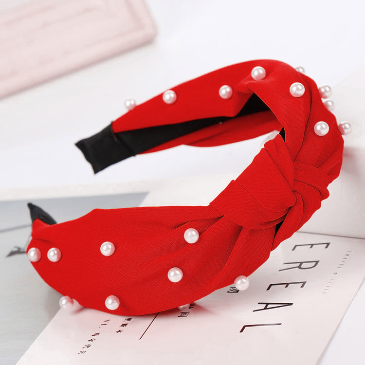 Pearl Knot Headbands for Girls