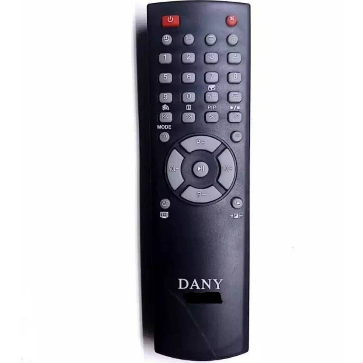 Universal Remote For All DANY TV Device - Black