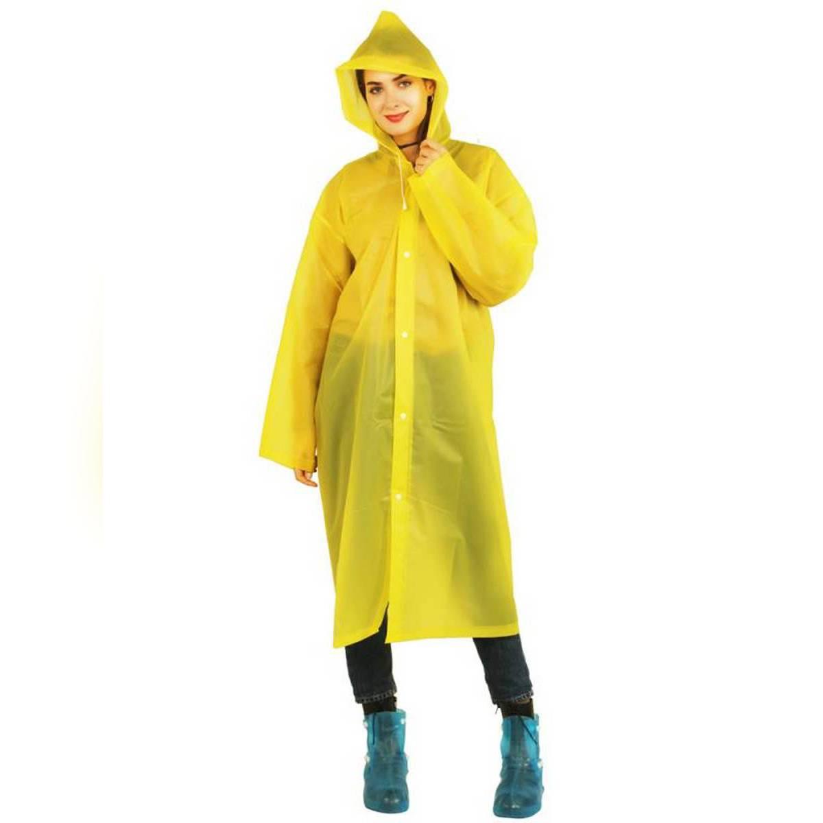 raincoat / barsati Rain coat 100% waterproof eva (plastic) material