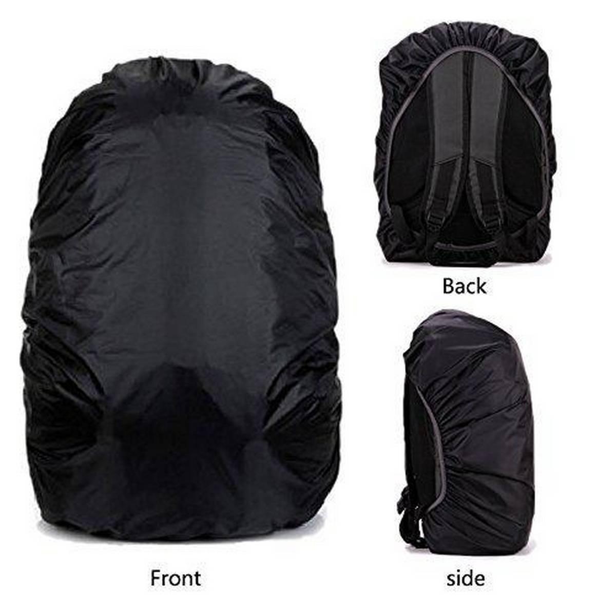Rain cover AYAMAYA Waterproof Backpack Rain Cover (30L-40L), Lightweight Bag Rain Cover Elastic Adjustable Rucksack Raincover Rainproof Dustproof Daypack Cover Ideal for Cycling Hiking Camping