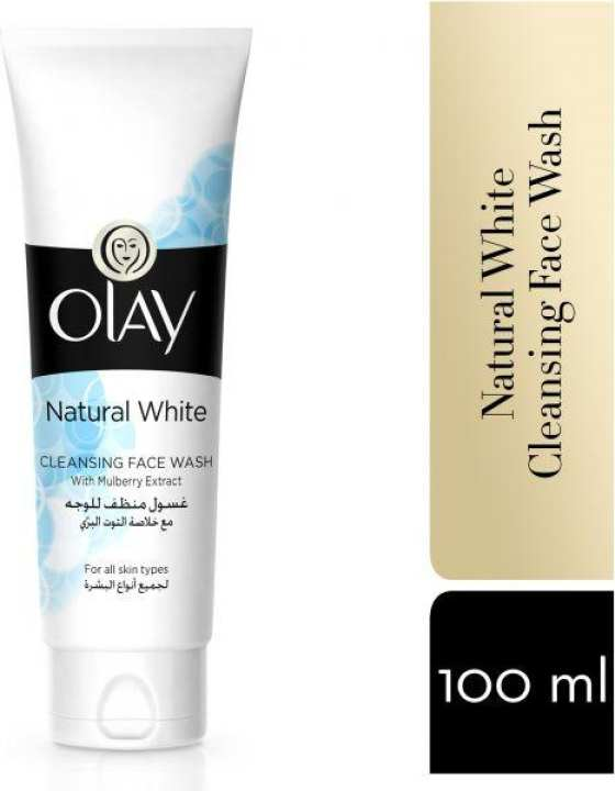 Olay Natural White Cleansing Face Wash
