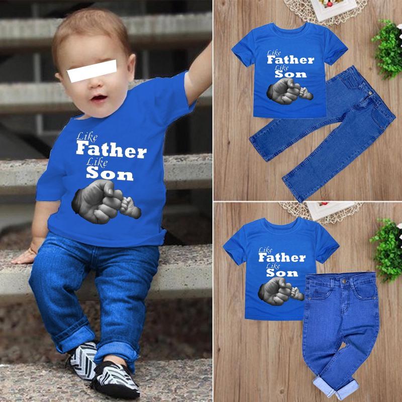 Bindas Collection 1 Digital Printed T-shirt & 1 Denim Jeans For Kids