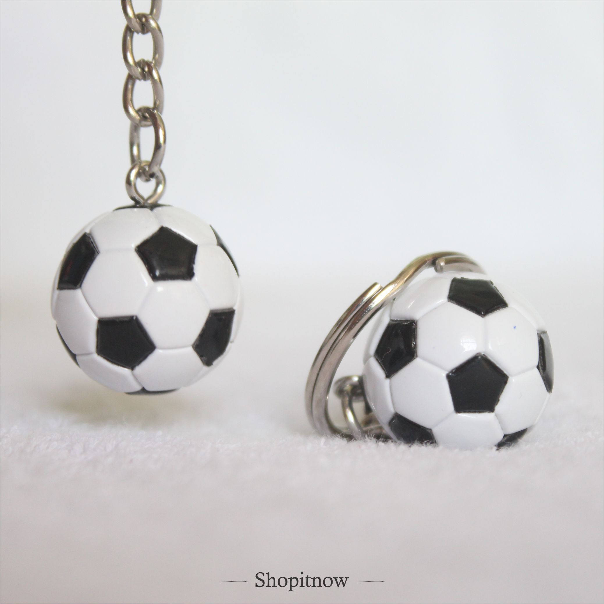 Football sports keychain bag hanging accessory for girls and boys