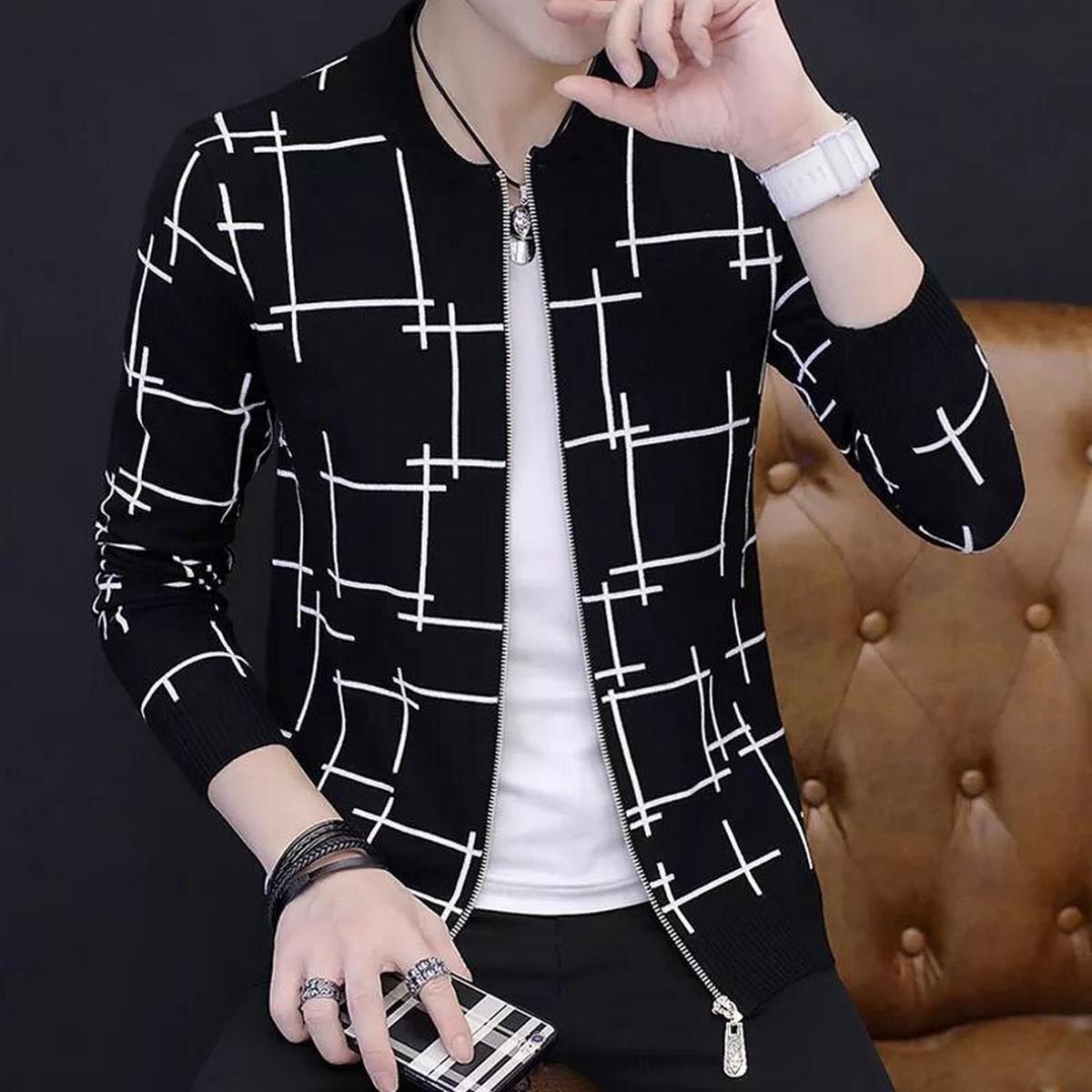 Stylish Fancy Zipper Upper