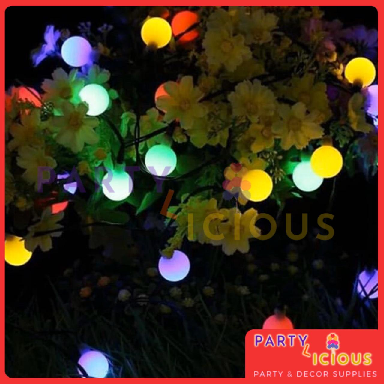 Picture of: Multi Colour Led Automatic Color Changing Globe Ball Fairy Light String For Home Decoration Buy Online At Best Prices In Pakistan Daraz Pk
