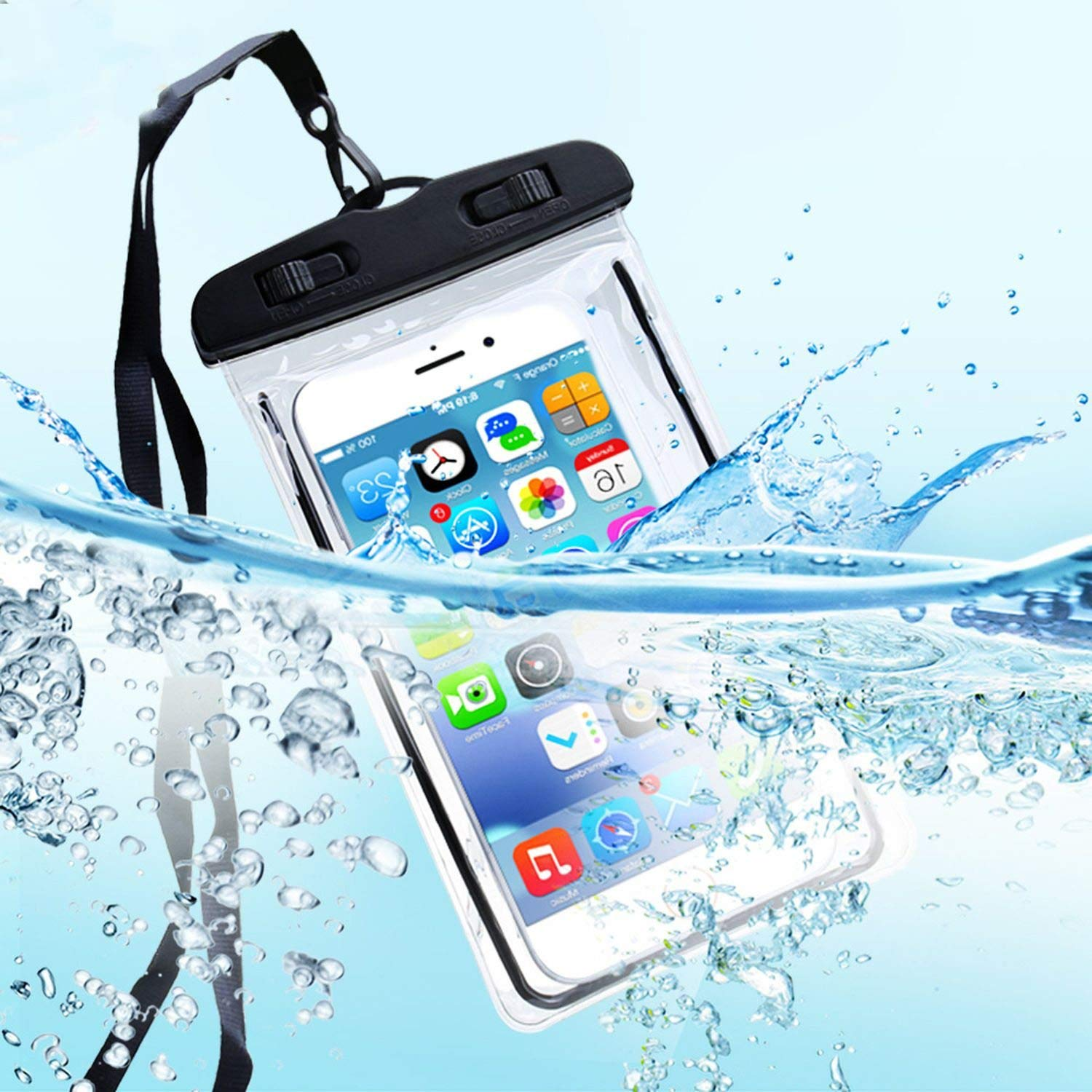 water proof cover for mobile  Underwater PVC Bag Transparent Touch Screen Premium Cell Phone Pouch Mobile Cover