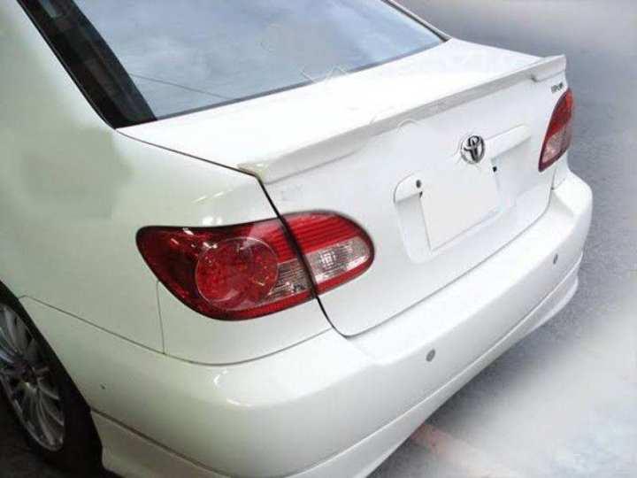 CAR TRUNK SPOILER FOR TOYOTA COROLLA 2002-2008