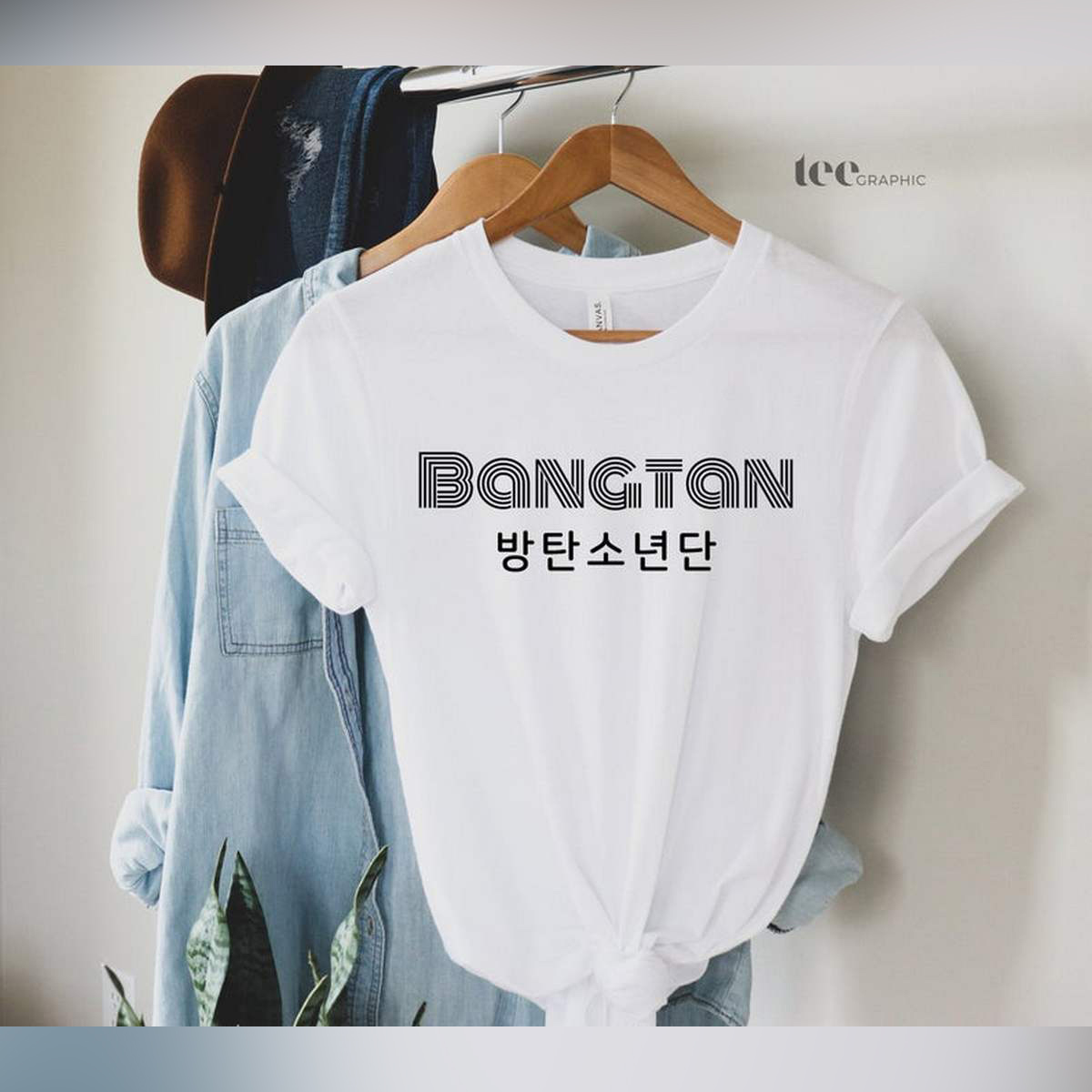 Bangtan Bts Army Cotton Printed T Shirt