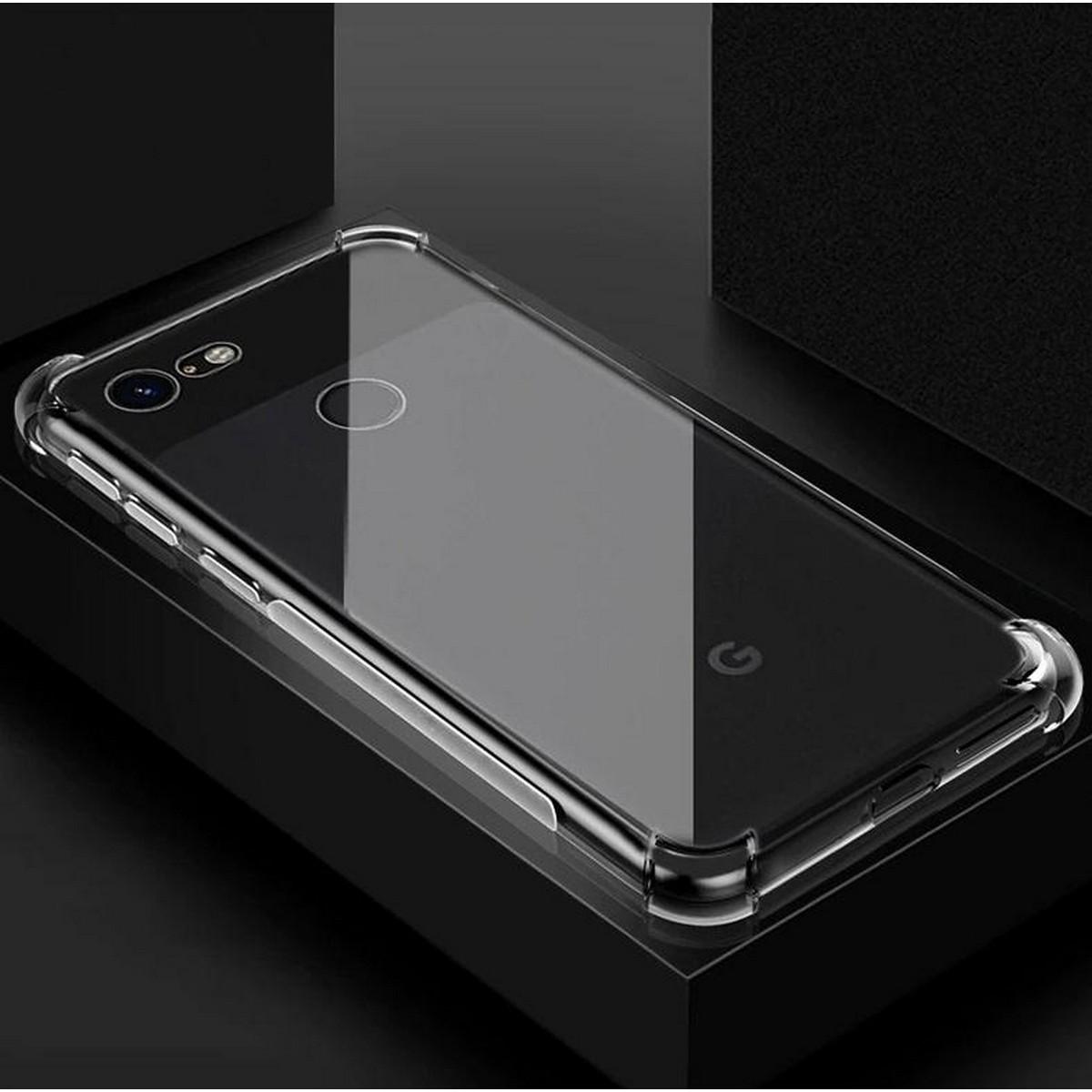 Google Pixel 3 Back Case Transparent Soft Cover
