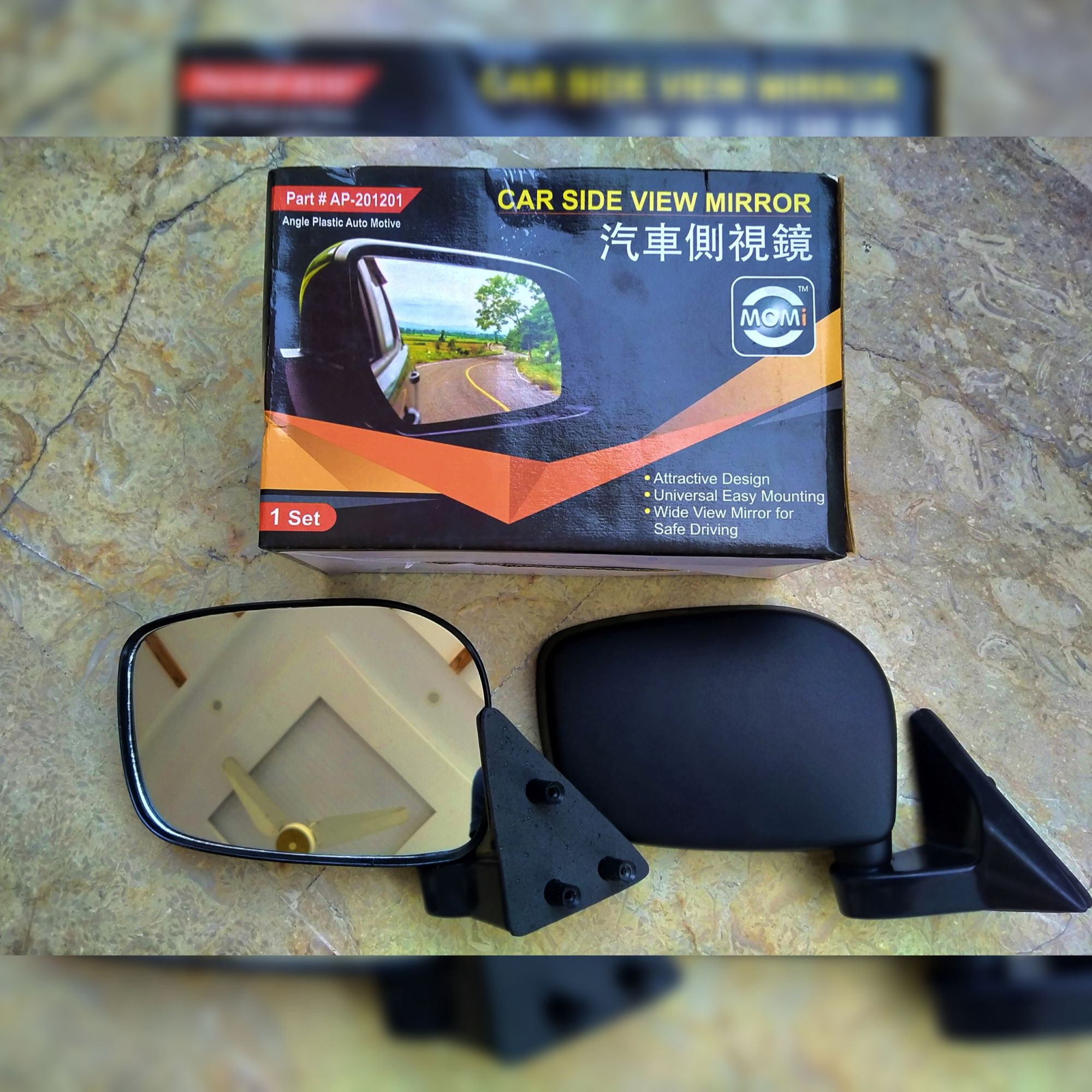 Wide Angle View SPECIAL Side Mirrors For Mehran